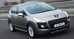 Peugeot 3008 (2010) крупным планом