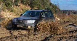 Приемы вождения: грязь вдали от цивилизации