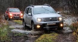 Приемы вождения внедорожника: вождение по ямам и канавам