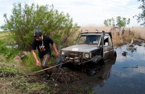 Вытягивание из грязи
